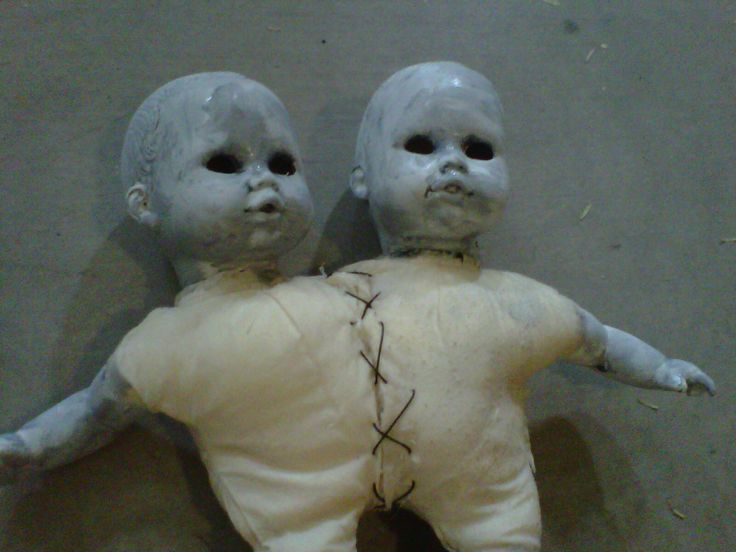 conjoined twins doll