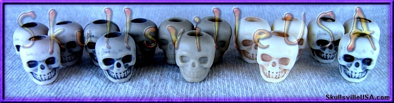 acrylic skull bead comparison