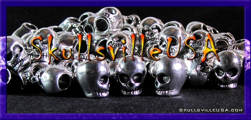 tight lipped skull beads