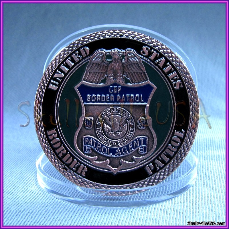 border patrol - homeland security challenge coin