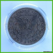 1897 hobo morgan liberty eagle skeleton in case