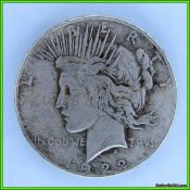 hobo liberty peace dollar with skeleton